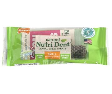 Nylabone Nutri Dent Natural натуральное жевательное лакомство для чистки зубов для собак