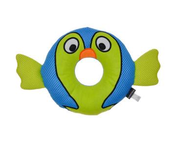Coastal Rascals Rugged Ringer Mesh Toy Barney Blowfish мягкая игрушка для собак