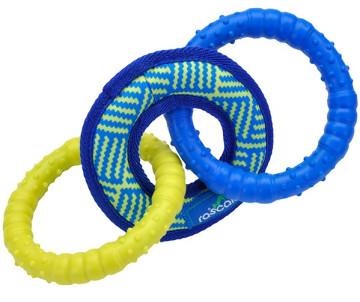 Coastal Rascals Fetch Toys Tri Tug игрушка для собак