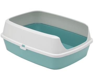 Moderna Maryloo открытый туалет c бортиком для котов
