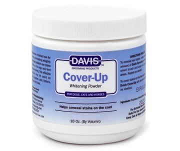 Davis Cover-Up Whitening Powder Маскирующая отбеливающая пудра для собак, котов