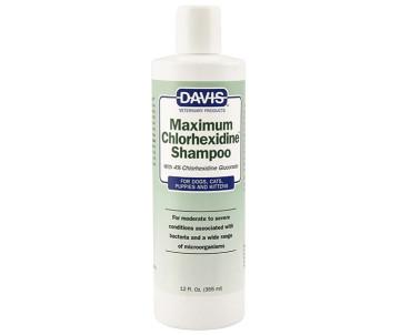 Davis Maximum Chlorhexidine Shampoo Шампунь для собак и котов с заболеваниями кожи и шерсти