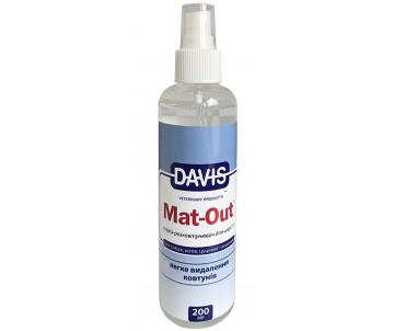 Davis Mat-Out Средство против колтунов для собак и котов, спрей