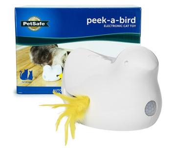 PetSafe Peek-a-Bird Electronic Cat Toy ПТИЧКА интерактивная игрушка для котов