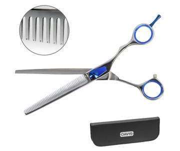 Davis Extreme Edge BLUE Thinning филировочные ножницы для стрижки собак