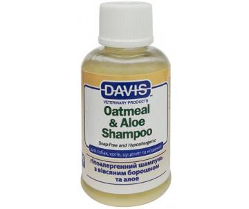 Davis Oatmeal & Aloe Shampoo Гипоаллергенный шампунь для собак и котов, концентрат