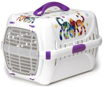Moderna Trendy Runner Friends Forever переноска для котов, пластиковая дверца