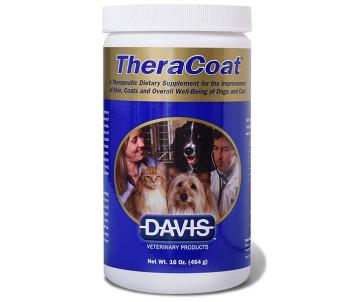 Davis TheraCoat Диетическая добавка для шерсти собак и котов