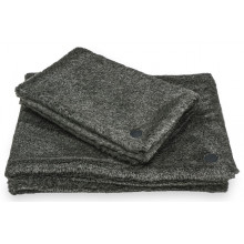 Harley and Cho Fur Blanket Gray Плед меховый