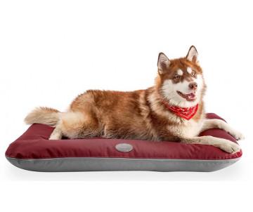 Harley and Cho Lounger Waterproof Red + Gray Двухсторонний лежак-понтон серый + красный