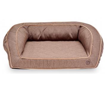 Harley And Cho Sleeper Brown Ортопедический диван для собак