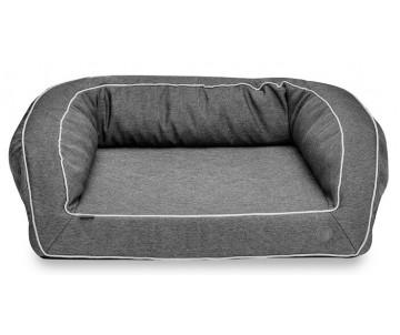 Harley And Cho Sleeper Gray Ортопедический диван для собак
