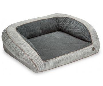 Harley And Cho Sleeper Soft Touch Gray Ортопедический диван для собак