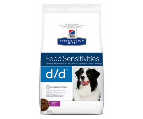 Hills Dog PD Canine D/D Duck Rice