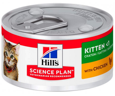 Hills Cat Science Plan Kitten Chicken Wet