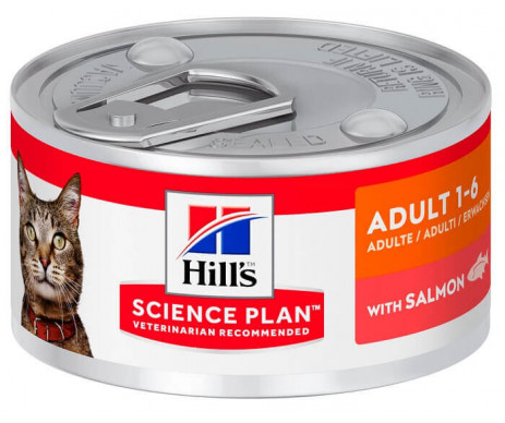 Hills Cat Science Plan Adult Salmon Wet