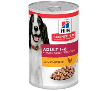 Hills Dog Science Plan Adult Chicken Wet