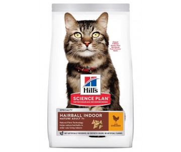 Hills Cat Science Plan Mature Hairball Indoor