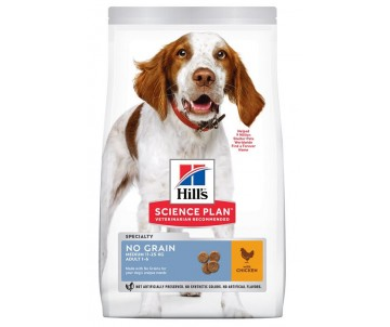 Hills Dog Adult Science Plan No Grain Medium