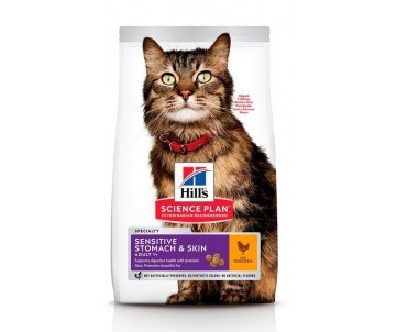 Hills Cat Science Plan Adult Sensitive Stomach Skin