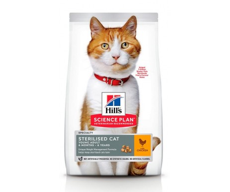 Hills Cat Science Plan Young Adult Sterilised Chicken