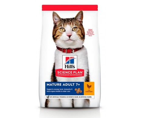 Hills Cat Science Plan Mature Adult 7+ Chicken