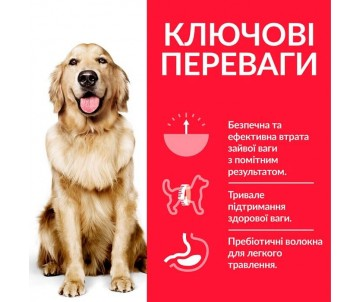 Hills Dog Adult Science Plan Perfect Weight Large Breed