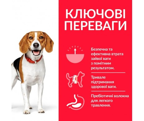 Hills Dog Science Plan Adult Perfect Weight Medium