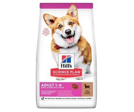 Hills Dog Science Plan Adult Small Mini Lamb Rice