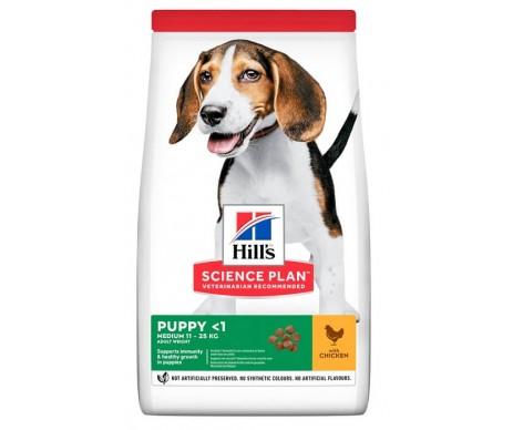 Hills Dog Science Plan Puppy Medium Chicken