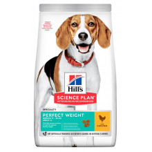 Hills Dog Adult Science Plan Perfect Weight Medium