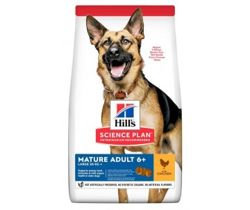 Hills Dog Science Plan Mature Adult Large Breed Chicken