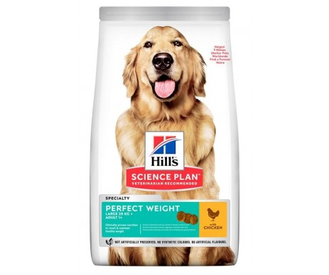 Hills Dog Science Plan Adult Perfect Weight Large Breed