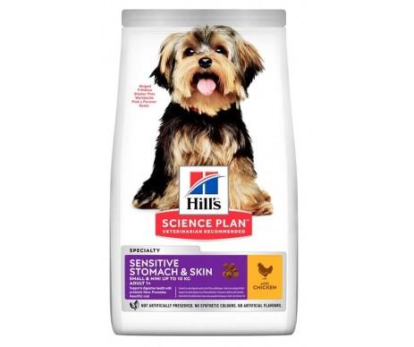 Hills Dog Science Plan Adult Sensitive Stomach Skin Small Mini