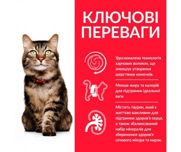 Hills Cat Science Plan Mature Adult Hairball&Indoor