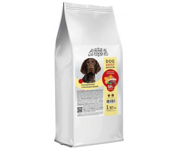 Home Food Dog Adult Medium Large Breed Duck fillet Potatoes