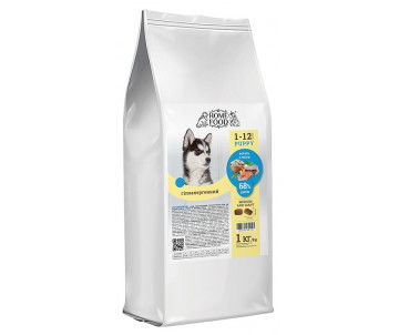 Home Food Dog Puppy Hypoallergenic Medium Trout Rice vegetables