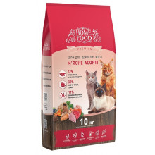 Home Food Cat Adult Meat Assorted