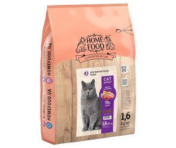 Home Food Cat Adult British Turkey Veal