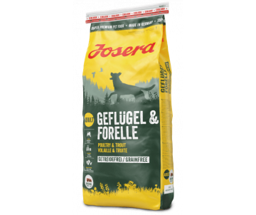 Josera Dog Adult GEFLUGEL FORELLE