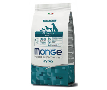 Monge Dog Adult All Breeds Hypoallergenic Salmon Tuna