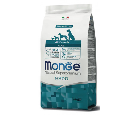 Monge Dog Adult All Breeds Hypoallergenic Salmon Tuna