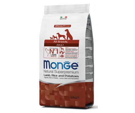 Monge Dog Adult All Breeds Lamb Rice