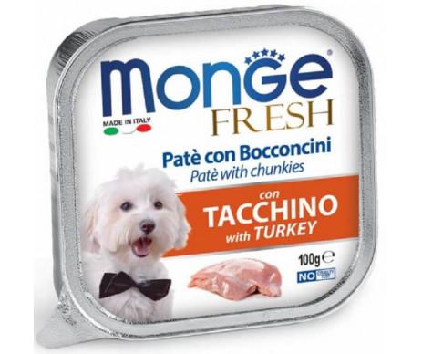 Monge Dog Fresh Turkey Wet