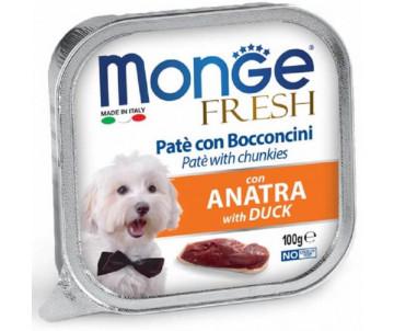 Monge Dog Fresh Duck Wet