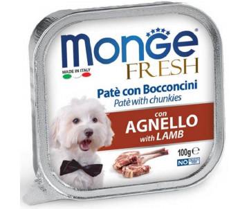 Monge Dog Fresh Lamb Wet