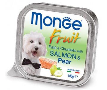Monge Dog Fruit Salmon Pear Wet