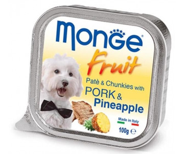 Monge Dog Fruit Pork Pineapple Wet