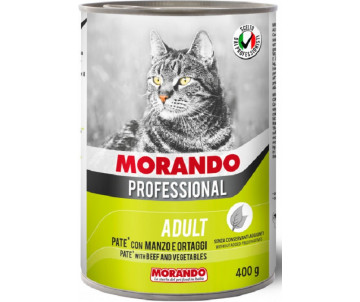 Morando Professional Cat Adult Veal vegetables Pate