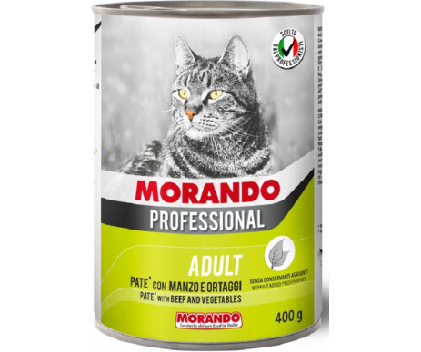 Morando Professional Adult Cat with Veal and vegetables